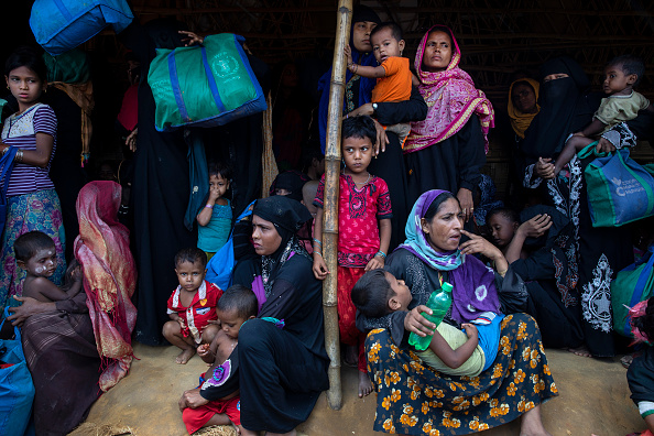 Paula Bronstein「Rohingya Refugees Mark One Year Since The Crisis」:写真・画像(3)[壁紙.com]
