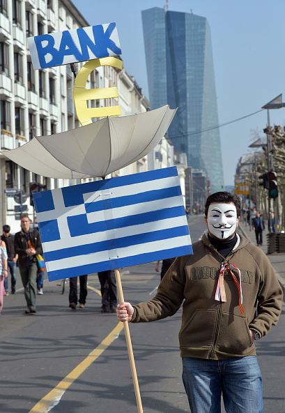 Seat of the European Central Bank「Blockupy Protests Accompany ECB Inauguration」:写真・画像(10)[壁紙.com]