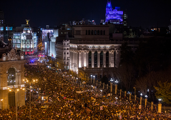 Madrid「Women's Day In Madrid」:写真・画像(8)[壁紙.com]