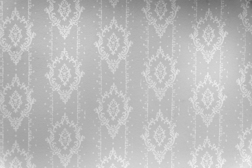 19th Century Style「wallpaper in black and white with ornaments」:スマホ壁紙(7)
