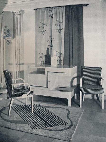 Rug「Corner Of A Room Designed By Hayes Marshall For Fortnum And Mason Ltd」:写真・画像(12)[壁紙.com]