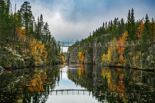 Finland「Hossa National Park in Finland」:スマホ壁紙(7)
