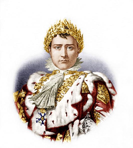 男性一人「Napoleon 1st (1769-1821) at the time of his coronation in 1804 . He was emperor of France from 1804 to 1814 . Contemporary engraving」:写真・画像(11)[壁紙.com]