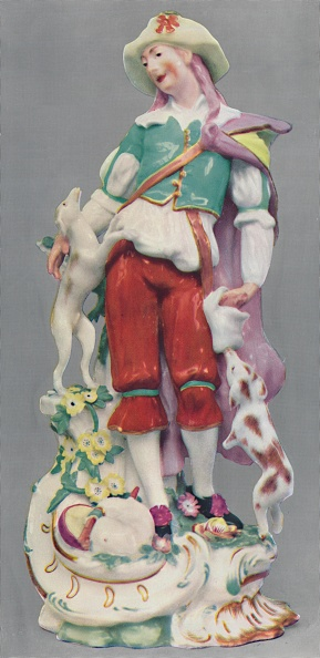 Antique「Porcelain Figure Chelsea」:写真・画像(13)[壁紙.com]
