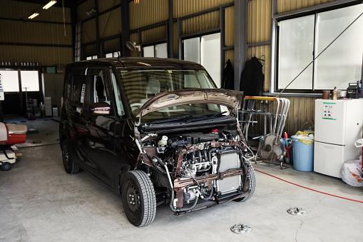 Motor Vehicle「Car repair shop in Japan」:スマホ壁紙(16)