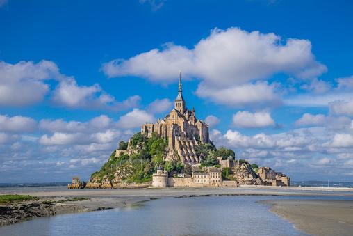 Abbey - Monastery「Mont Saint-Michel Normandy」:スマホ壁紙(5)