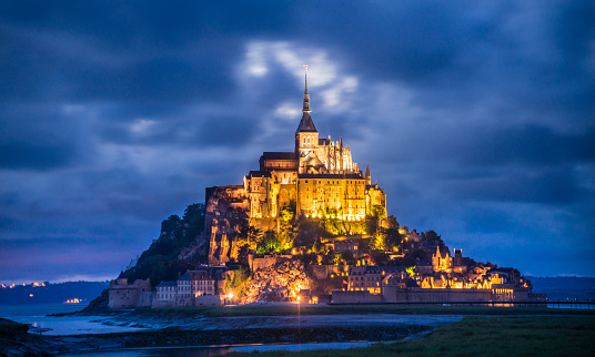 Abbey - Monastery「Mont Saint-Michel Normandy」:スマホ壁紙(18)