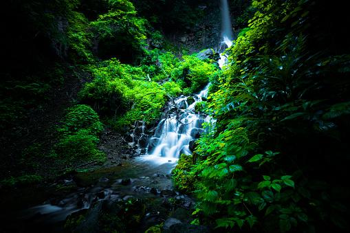 Scenics - Nature「Waterfall in Karuizawa, Japan」:スマホ壁紙(13)