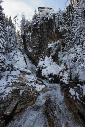 Bad Gastein「Waterfall in Bad Gastein, Austria」:スマホ壁紙(13)