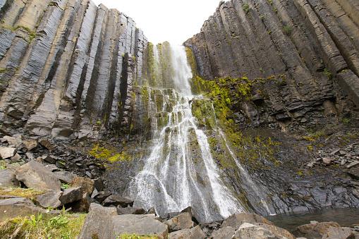 Basalt「Waterfall in Iceland」:スマホ壁紙(8)