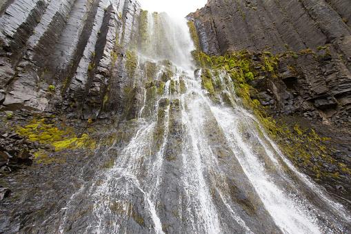 Basalt「Waterfall in Iceland」:スマホ壁紙(5)