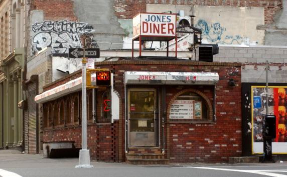 Corner「New York City's Jones Diner」:写真・画像(2)[壁紙.com]