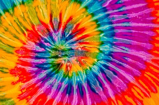 Psychedelic「Colorful tie dye swirl texture」:スマホ壁紙(8)