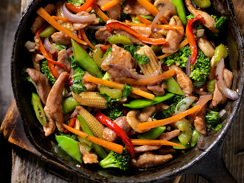 Baby Corn「Pork and Vegetable Stir Fry」:スマホ壁紙(5)