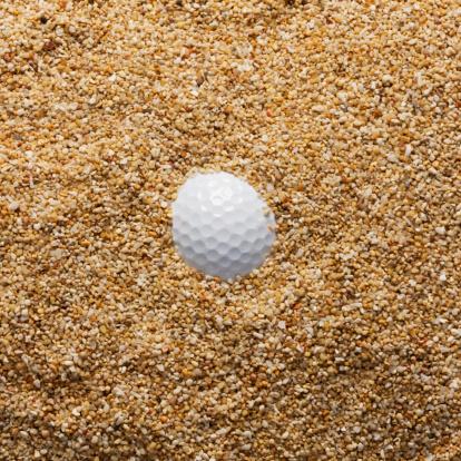 Sand Trap「Buried golf ball.」:スマホ壁紙(9)