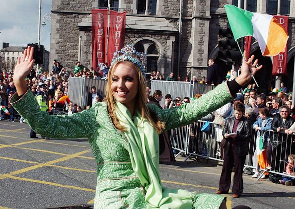 Headwear「St Patrick's Day Parade In Dublin」:写真・画像(15)[壁紙.com]