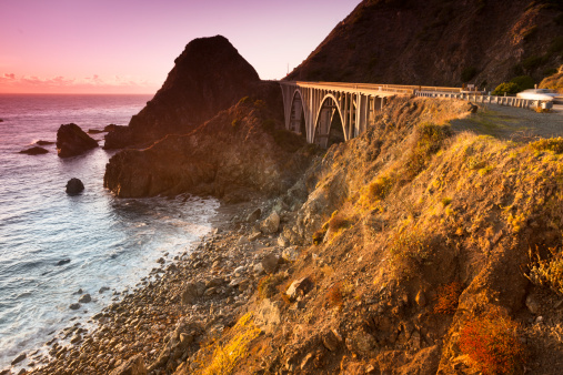 Big Sur「Big Creek Bridge, California, USA」:スマホ壁紙(19)
