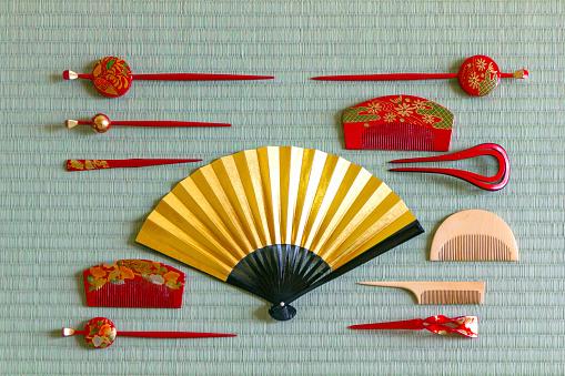 Hand Fan「Accessories for kimono.」:スマホ壁紙(8)