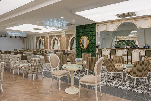 Hotel Reception「Resort Lobby bar and patisserie」:スマホ壁紙(9)
