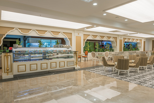 Hotel Reception「Resort Lobby bar and patisserie」:スマホ壁紙(6)