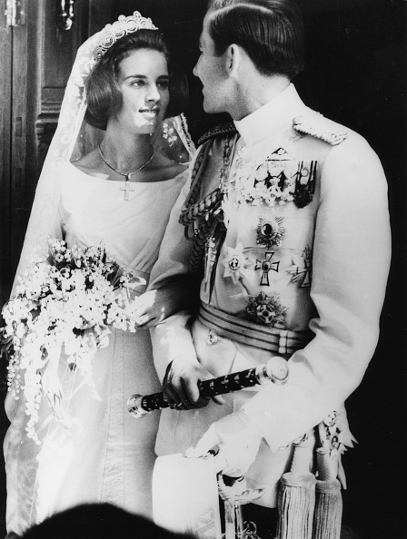 Bride「King Constantine And Princess Anne-Marie」:写真・画像(14)[壁紙.com]