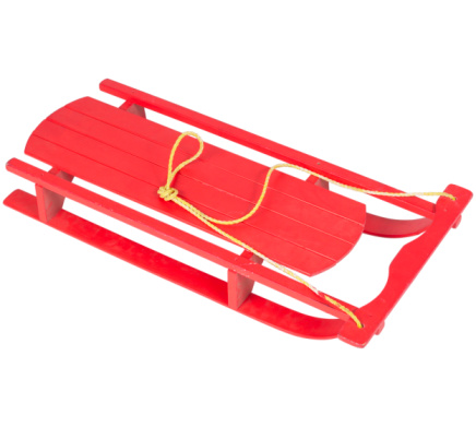 Sled「Red Wooden Toboggan」:スマホ壁紙(4)