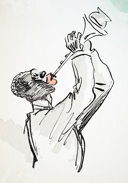 楽器「Trumpet Player」:写真・画像(7)[壁紙.com]