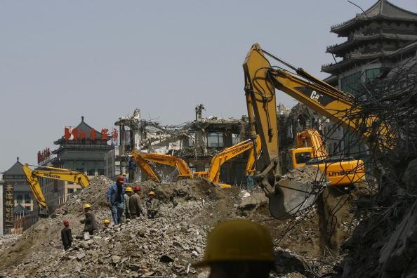Demolishing「Wangfujing Commercial Street To Be Extended」:写真・画像(4)[壁紙.com]