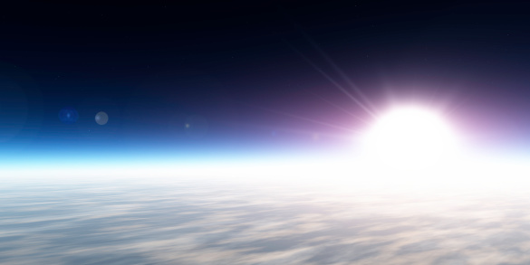 Planet Earth「Sunrise from space (XXXL-50 MP)」:スマホ壁紙(12)