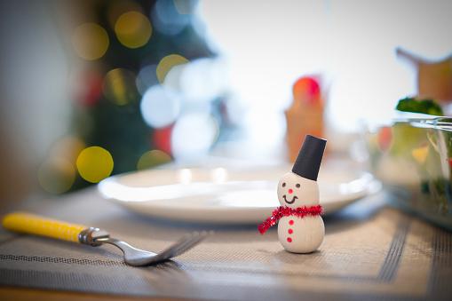雪だるま「日本でクリスマス パーティーの画像」:スマホ壁紙(11)