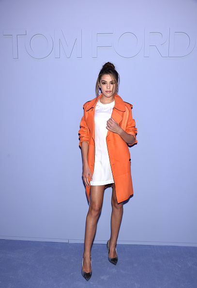 Orange Coat「Tom Ford Fall/Winter 2018 Women's Runway Show」:写真・画像(11)[壁紙.com]