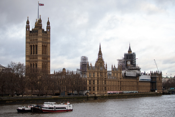 Houses Of Parliament - London「Big Ben Renovations Continue」:写真・画像(7)[壁紙.com]