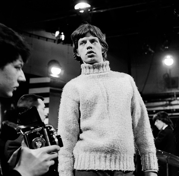 Mock Turtleneck「Stones Rehearse For TV Show」:写真・画像(0)[壁紙.com]