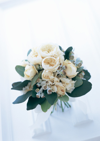 あじさい「Boquet of rose, eucalyptus, and hydrangea」:スマホ壁紙(8)