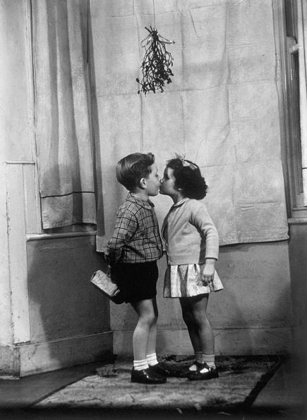 宿り木「Mistletoe Kiss」:写真・画像(1)[壁紙.com]