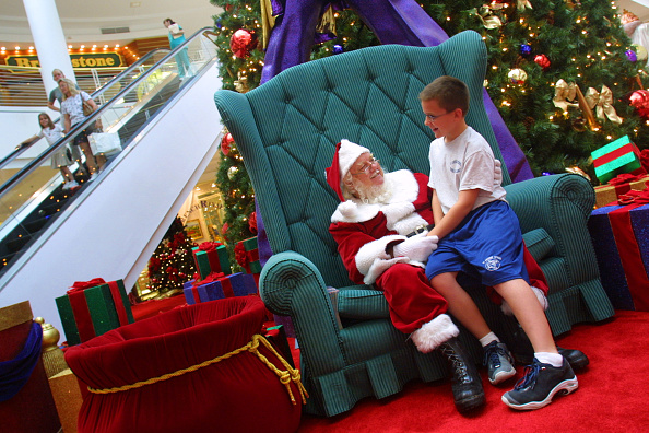 Joe Mahoney「Santa Claus at the Mall in Plantation, Florida.」:写真・画像(0)[壁紙.com]