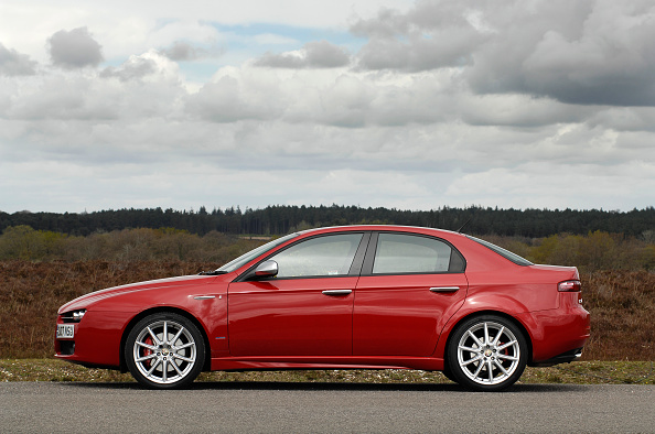 Side View「2007 Alfa Romeo 159」:写真・画像(11)[壁紙.com]