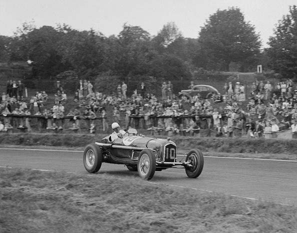 Race Car Driver「Alfa Romeo Monza of Kenneth Evans racing at Crystal Palace, London, 1939」:写真・画像(13)[壁紙.com]