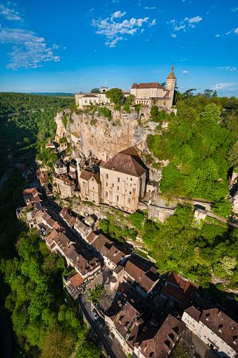 Camino De Santiago「Rocamadour village in France」:スマホ壁紙(6)