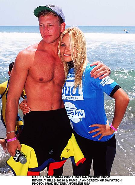 Malibu Circa Pamela Anderson From TV Series Bay Watch And Ian Ziering From Bevely Hills 9021:ニュース(壁紙.com)