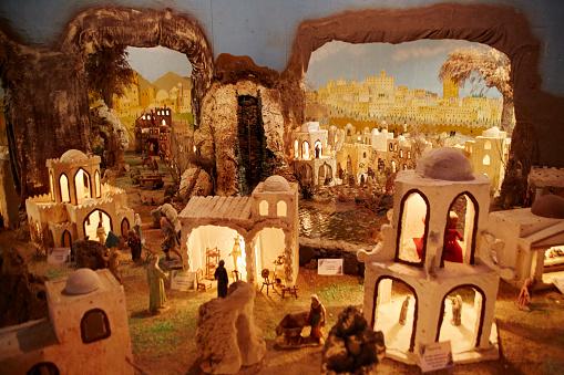 Figurine「Nativity scene model, Museo de Piedras in Aguatona, Gran Canaria. Canary Islands, Spain.」:スマホ壁紙(14)