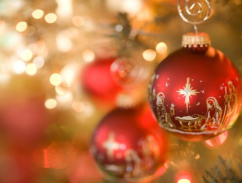 Spirituality「Nativity Scene Christmas Ornament」:スマホ壁紙(3)