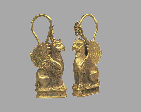 Art Product「Earring in the Form of Griffin, 5th cen. BC. Artist: Scythian Art」:写真・画像(17)[壁紙.com]