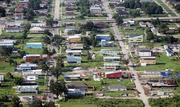Ninth Ward「Five-Year Anniversary Of Hurricane Katrina Nears For A Battered US Gulf Coast」:写真・画像(1)[壁紙.com]
