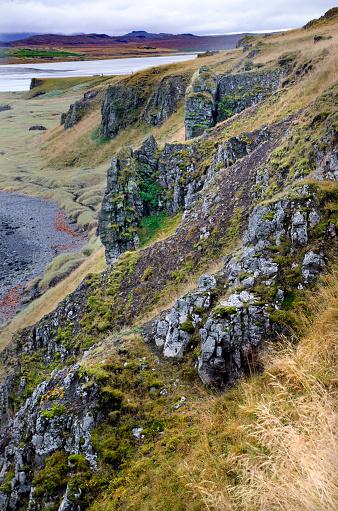 Basalt「The Vatnsnes Peninsula Coastline」:スマホ壁紙(12)