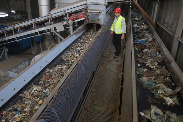 Equipment「Waste Fuels Energy Production In Incinerator Plant」:写真・画像(13)[壁紙.com]
