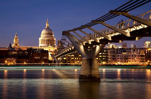 Footbridge「St Paul's and the Millennium Bridge」:スマホ壁紙(12)