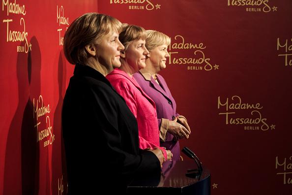 Politics and Government「Three Merkel Figures At Madame Tussauds」:写真・画像(16)[壁紙.com]