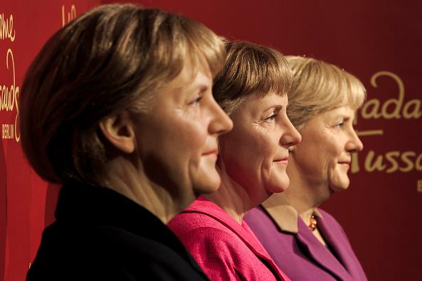 Politics and Government「Three Merkel Figures At Madame Tussauds」:写真・画像(17)[壁紙.com]