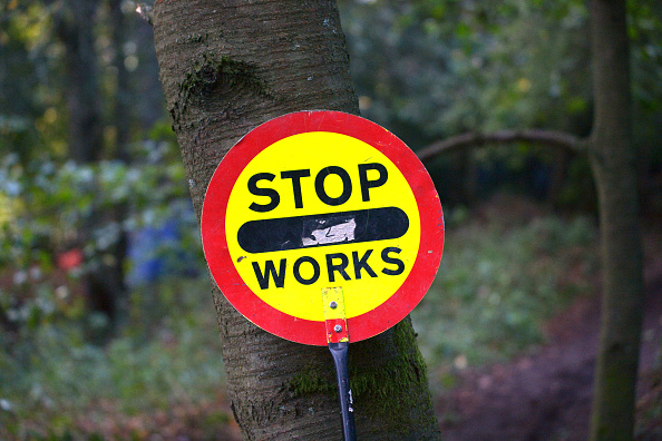 Protection「HS2 Protesters Face Eviction From Roald Dahl Wood」:写真・画像(15)[壁紙.com]